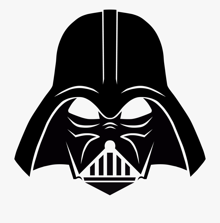 image freeuse Star wars head . Darth vader clipart