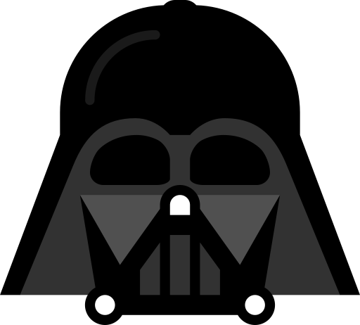 black and white download Clip art icon animations. Darth vader clipart