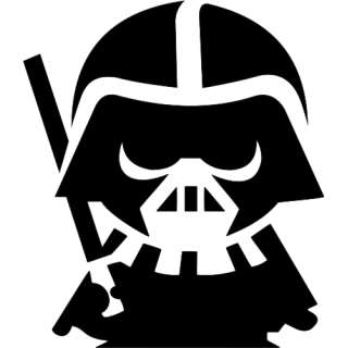 transparent Darth Vader Clipart baby