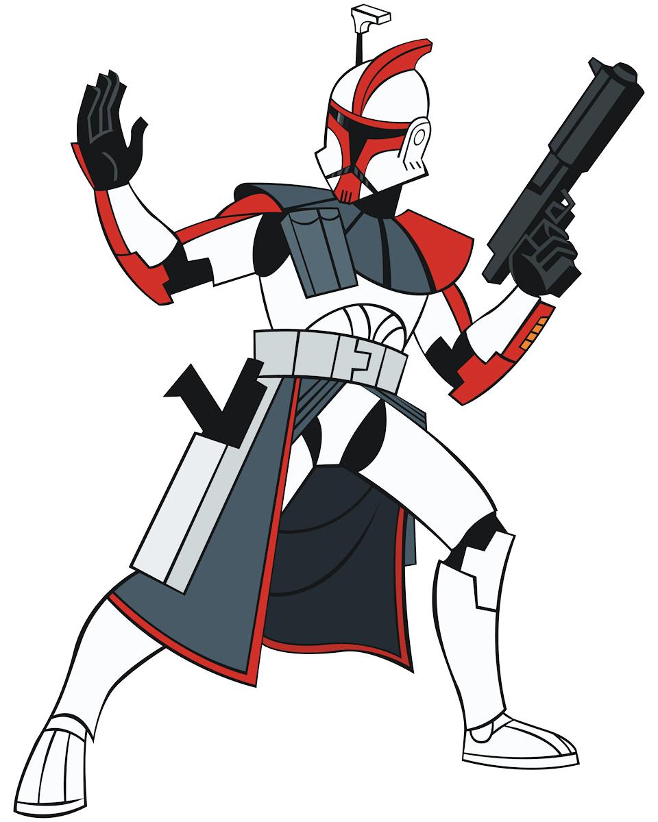 clip art royalty free library Wars clipart marksman. Arc trooper vs battles