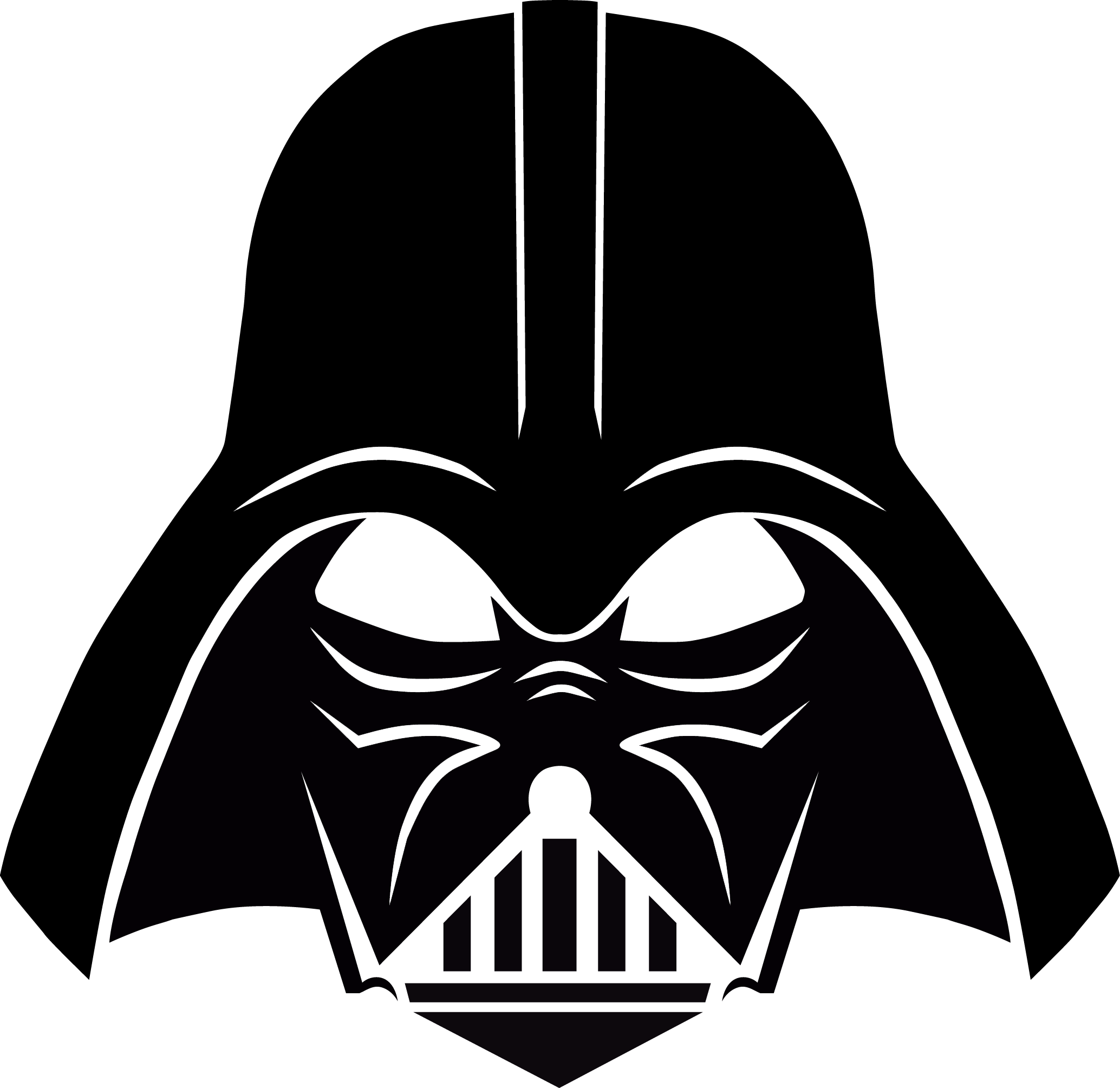 picture transparent stock Darth vader clipart. Stencil free download pinterest