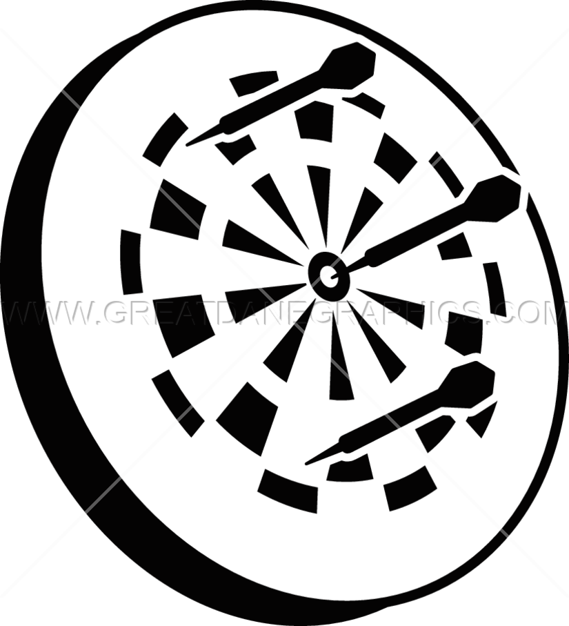 graphic library stock Dart png transparent images. Dartboard vector black and white