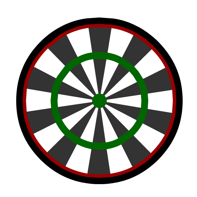 vector freeuse library Darts clipart dart game