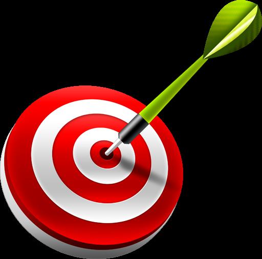 graphic royalty free stock darts clipart three #77922846