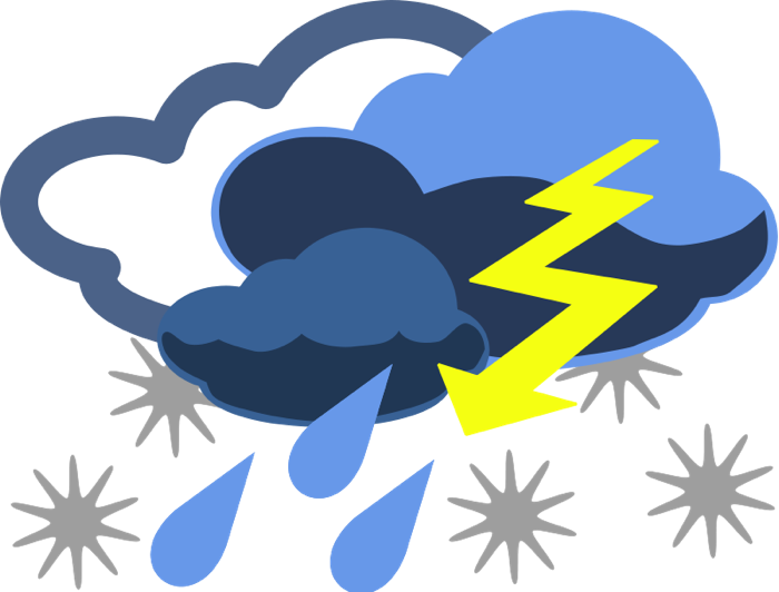 banner black and white stock Graphics of wind storms. Showering clipart bad weather