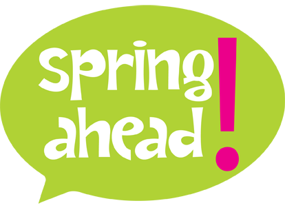 banner royalty free download We spring ahead this. Daylight savings clipart practice time