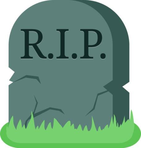 jpg black and white library Dead clipart. Image tombstone death grave