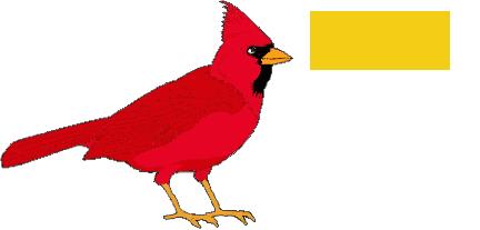 clip Cardinal clipart dead