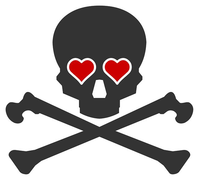 svg free Death Clipart crossbones
