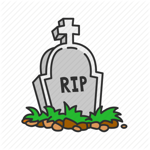 clipart library stock Dead Clipart rest in peace