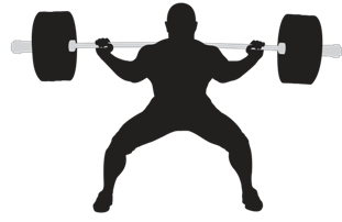 jpg black and white Beyonce transparent powerlifting. Weightlifter png hd images