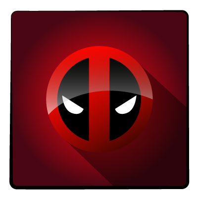 image freeuse stock Deadpool Icon