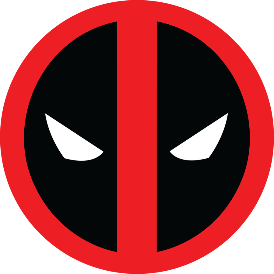clip black and white download Deadpool Logo