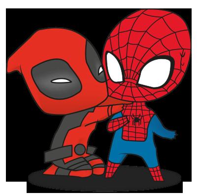 clip art royalty free Deadpool clipart mini