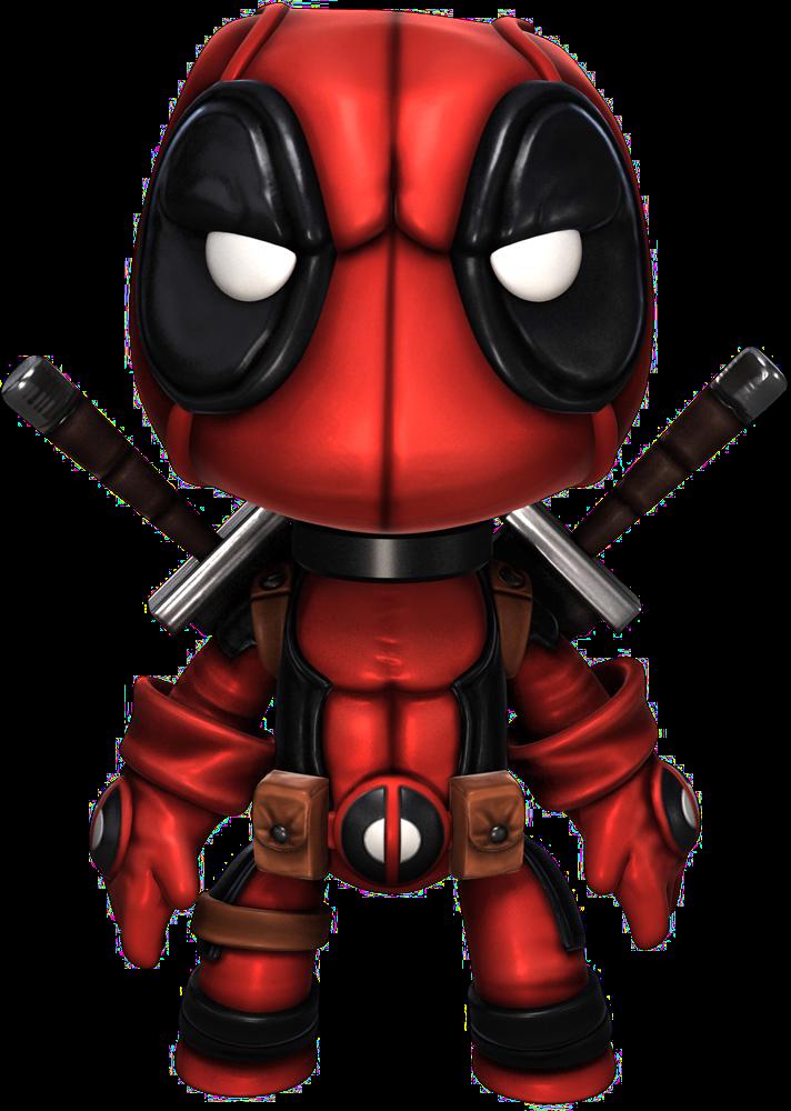 clip art transparent stock Deadpool Costume for Little Big Planet
