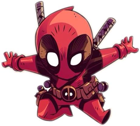 svg freeuse library Deadpool Clipart cool