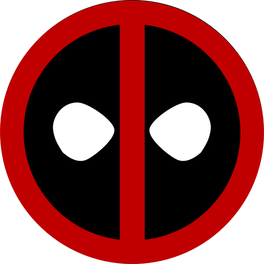 jpg black and white library Deadpool Icon