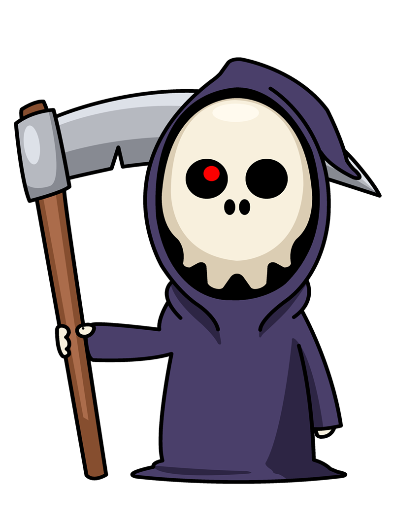 banner free library Deadth pretty free on. Grim reaper clipart icon.