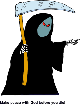 clip free library Image make peace with. Grim reaper clipart icon