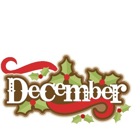 clip art freeuse library December clipart. Cool design deluxe calendar.