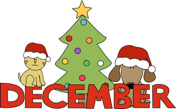 banner free stock Month of christmas pets. Anniversary clipart december.
