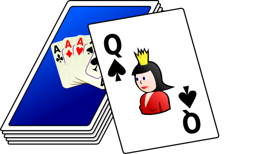 png transparent library Deck Of Cards Clipart