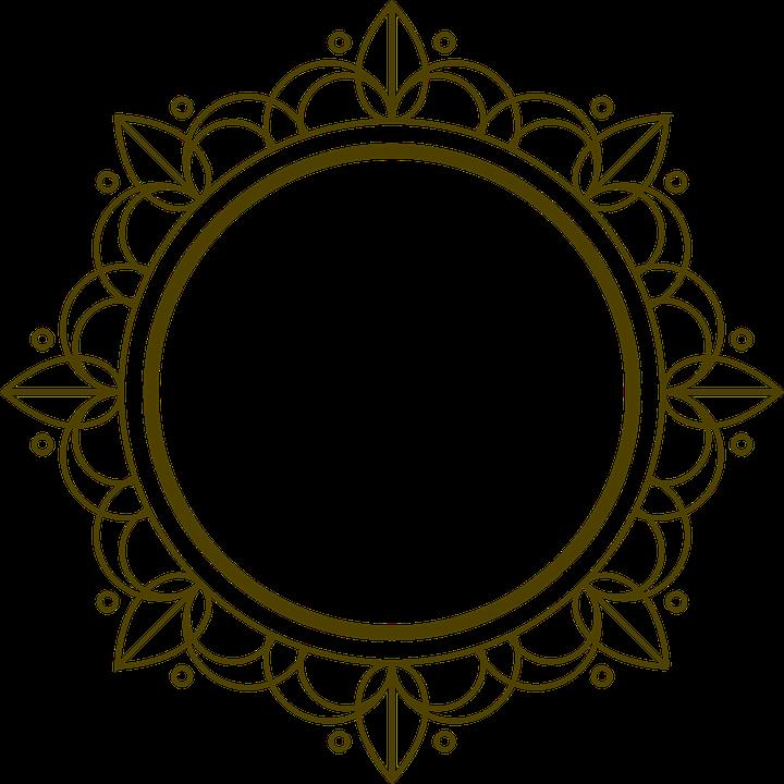 royalty free Decorative border art free. Deco clipart