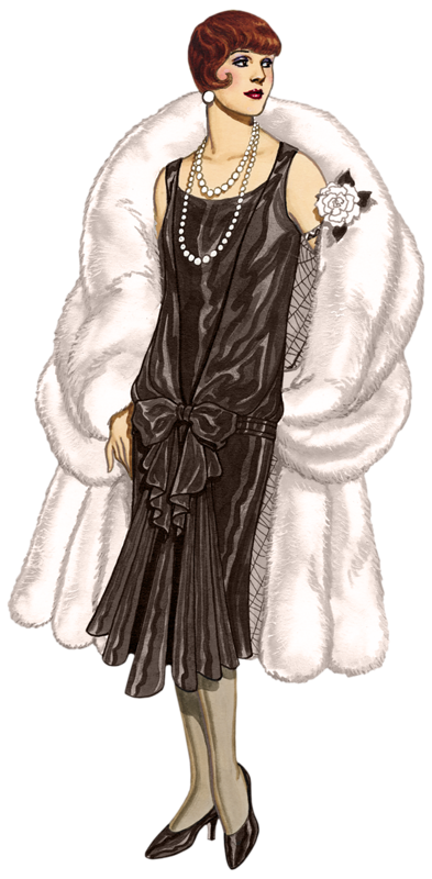 svg freeuse download Vero pld folallur vg. Deco clipart vintage dress