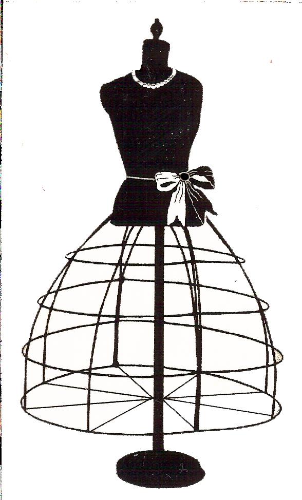 vector transparent library Free vintage digital stamps. Dresser clipart dress model