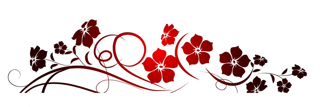 clipart library library Decoration clipart. Red flowers png gallery.