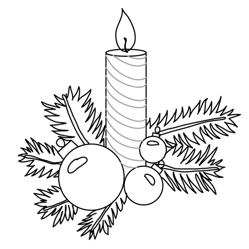 image transparent download Christmas tree decorations at. Drawing tickets xmas