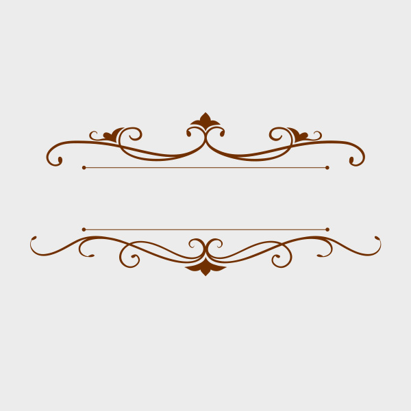 image freeuse library Free of the day. Decoration vector.