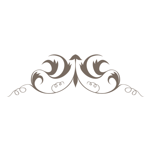 png free stock Simple ornamented swirls decoration