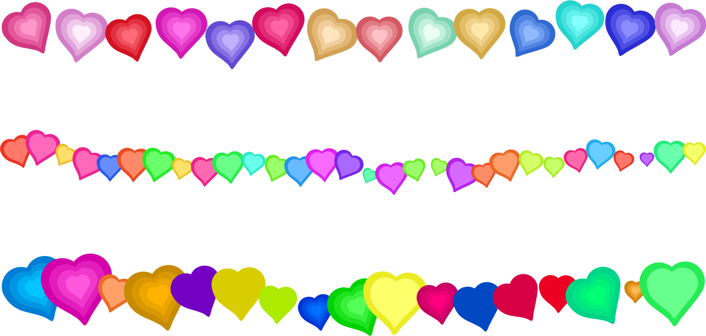 svg transparent Heart page border big. Decorations clipart