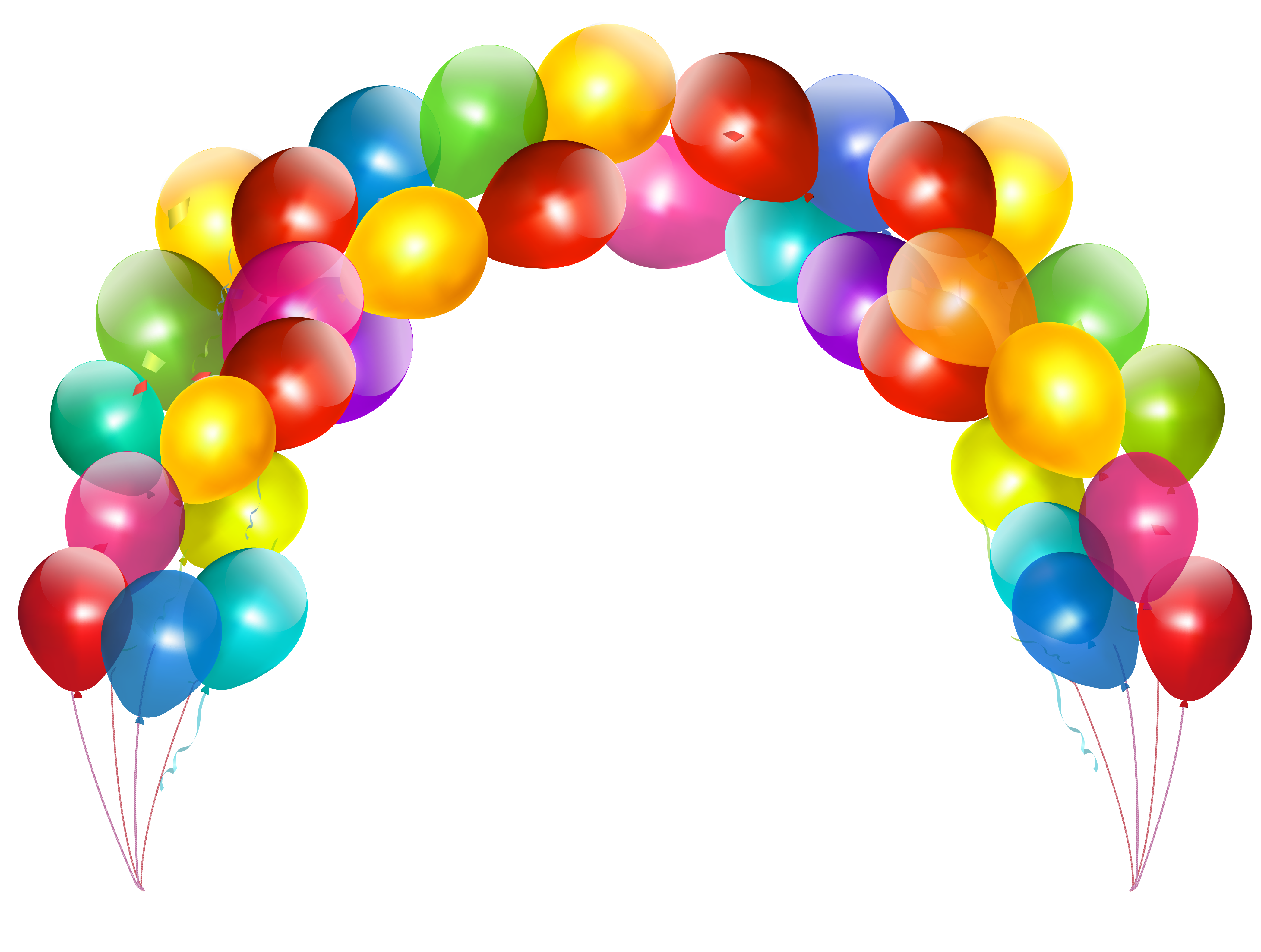 png transparent download Balloon Arch Clipart