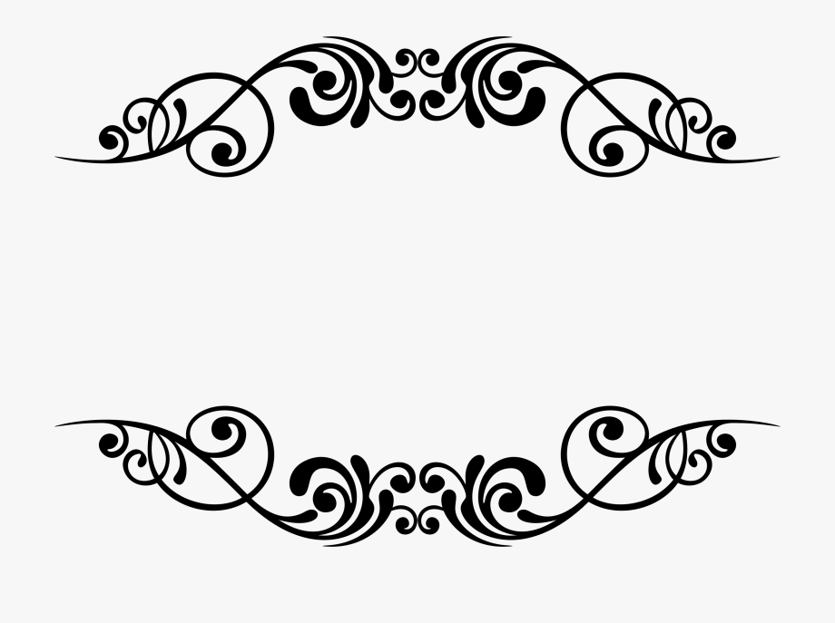 image black and white stock Borders stencil designs arts. Decorative clipart