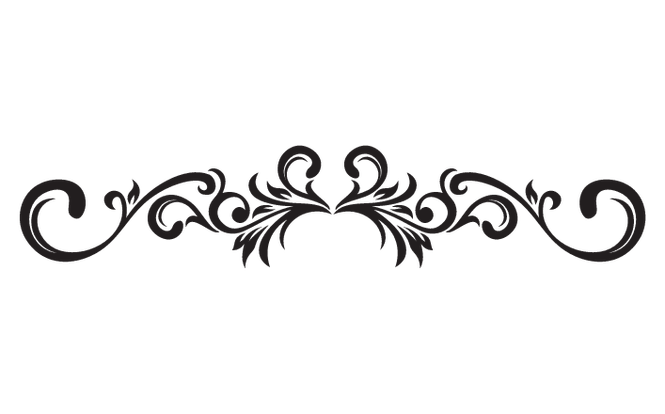 vector royalty free stock Decorative clipart. Scrolling clipground scroll clip