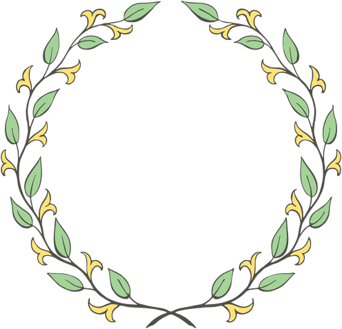 clip art transparent download Free Floral Wreath Clip Art