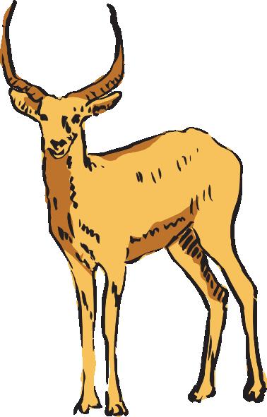 banner transparent Antelope Clipart at GetDrawings