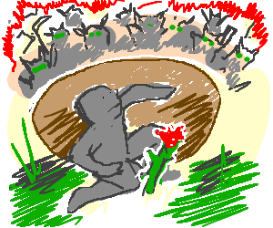 graphic Deforestation drawing. Rebel is against by.