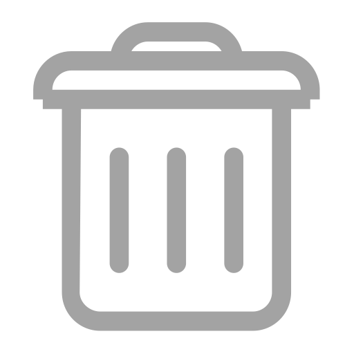 graphic royalty free download Gray icon png and. Delete vector.