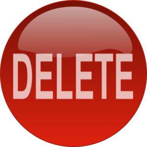 freeuse library Vector delete clipart. Red button clip art