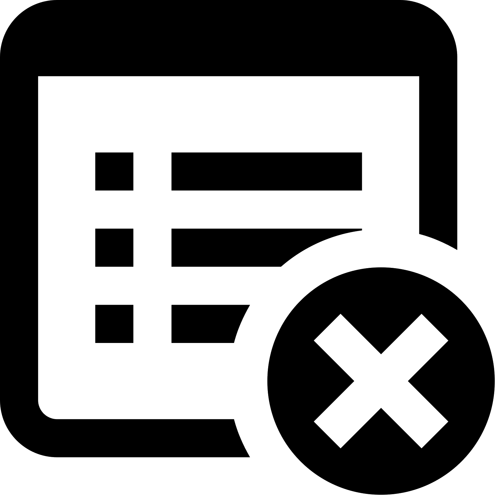 jpg stock Document icono descarga gratuita. Delete vector png.