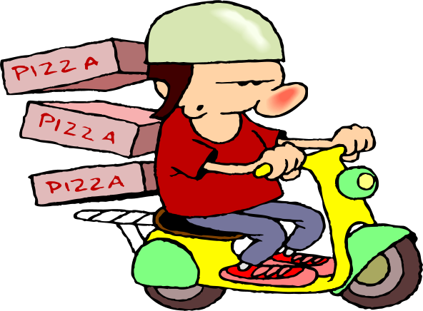 graphic royalty free download Pizza . Delivery clipart.