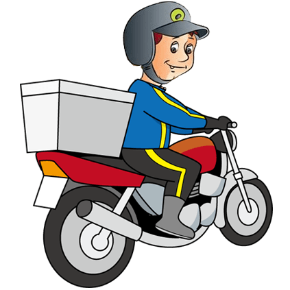 svg library download Delivery Clipart delivery boy