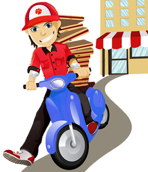 picture black and white library Delivery clipart restaurant. Restaurants near me deliver.