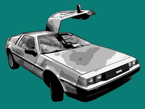 graphic library download Delorean Pop by Lance Vaughn