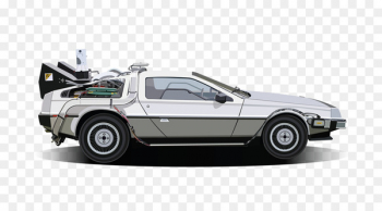 clipart library Delorean dmc