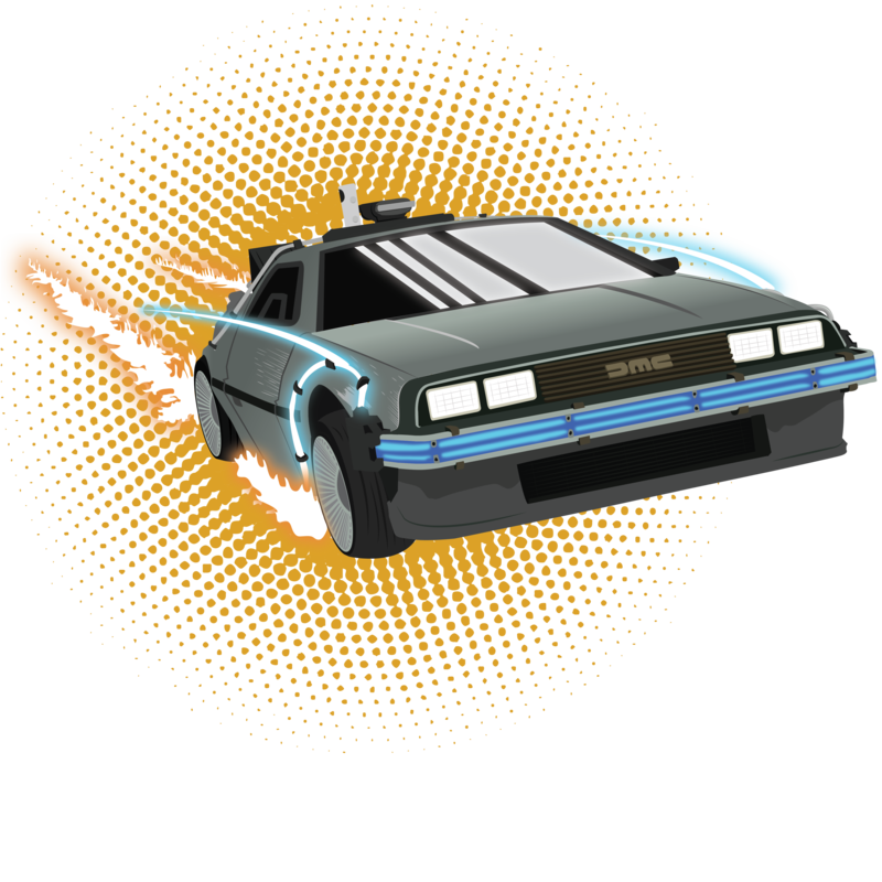 svg library stock Delorean by WinterWolfMedia on DeviantArt