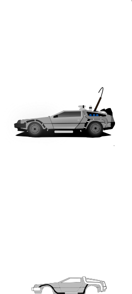 clip art free stock Car Delorean Clip Art at Clker